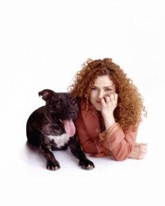 Bernadette with Stella | New York City Dog